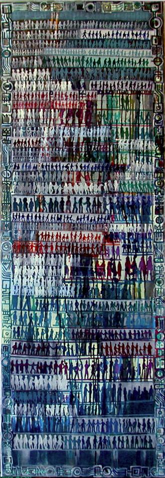 L'Humanite 2001 150x50cm