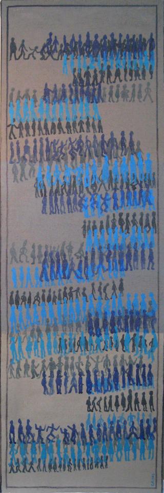 Migrations 2013 150x50cm