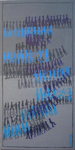Migrations 2 2013 100x50cm