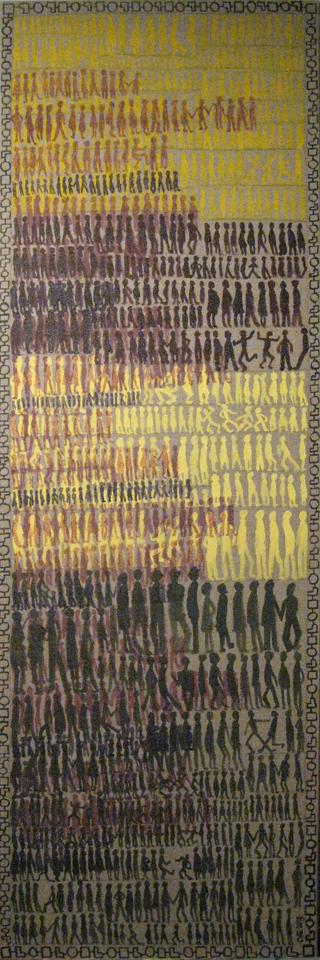 Tokyoites 2013 150x50cm