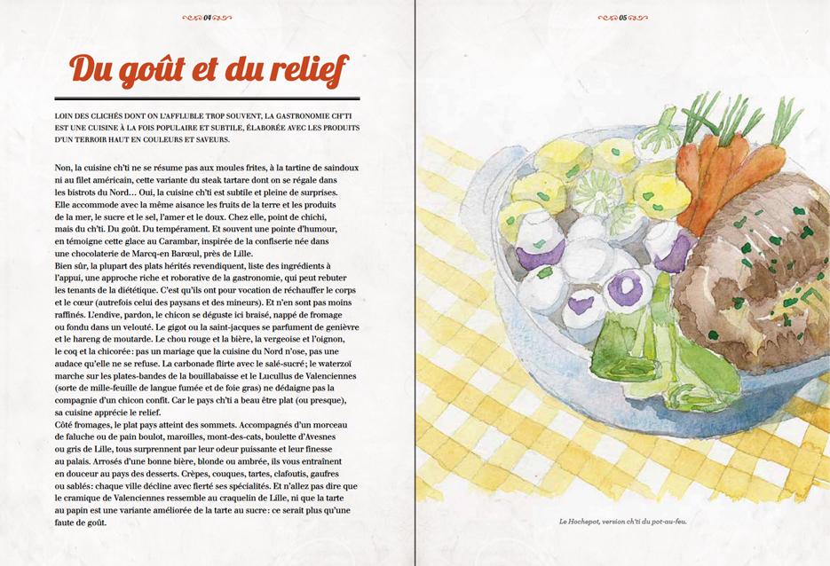 Illustration camillenko - La cuisine des terroirs ...