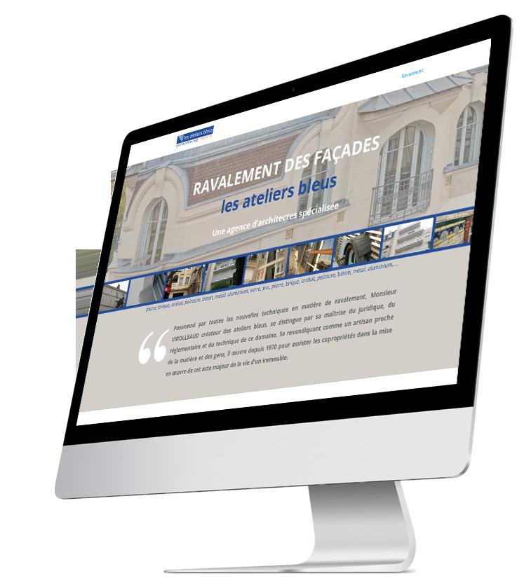 site lesateliersbleus.fr